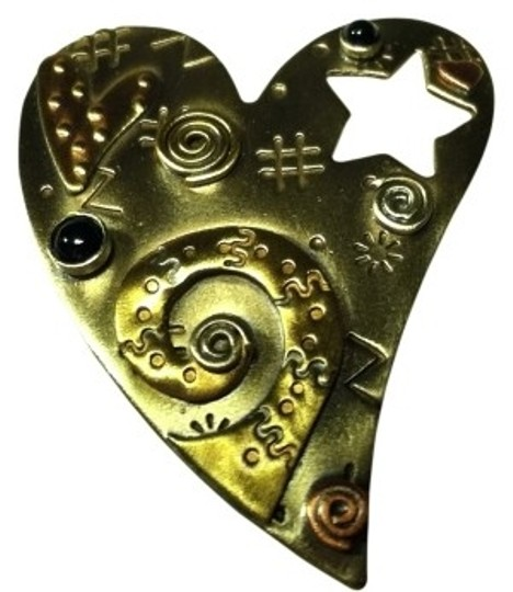 Coldwater Creek Coldwater Creek Heart Pin
