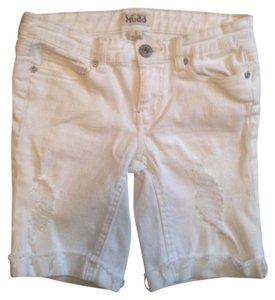 Mudd Bermuda Shorts White