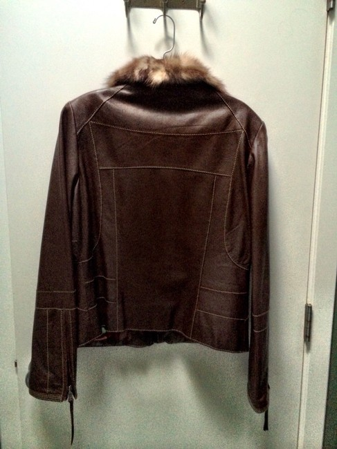 Andrew Marc Chocolate Brown Jacket