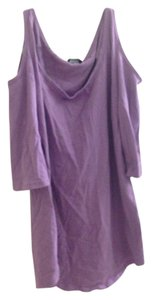 Moda International Cotton Open Shoulder Out Tunic