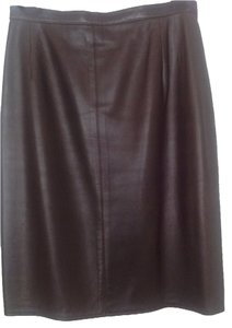 Bruno Ricci Skirt Dark Brown