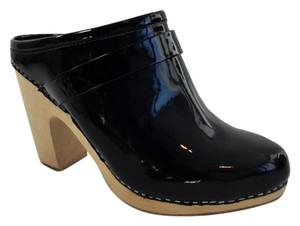 Jeffrey Campbell Heeled Clogs Black Boots