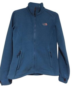 The North Face Fleece Fleece Turquoise Blue Jacket