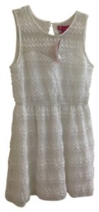 short dress White Summer Lace on Tradesy