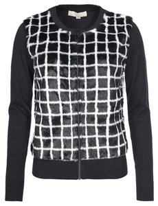 Michael Kors Stylish Knit black and white Jacket