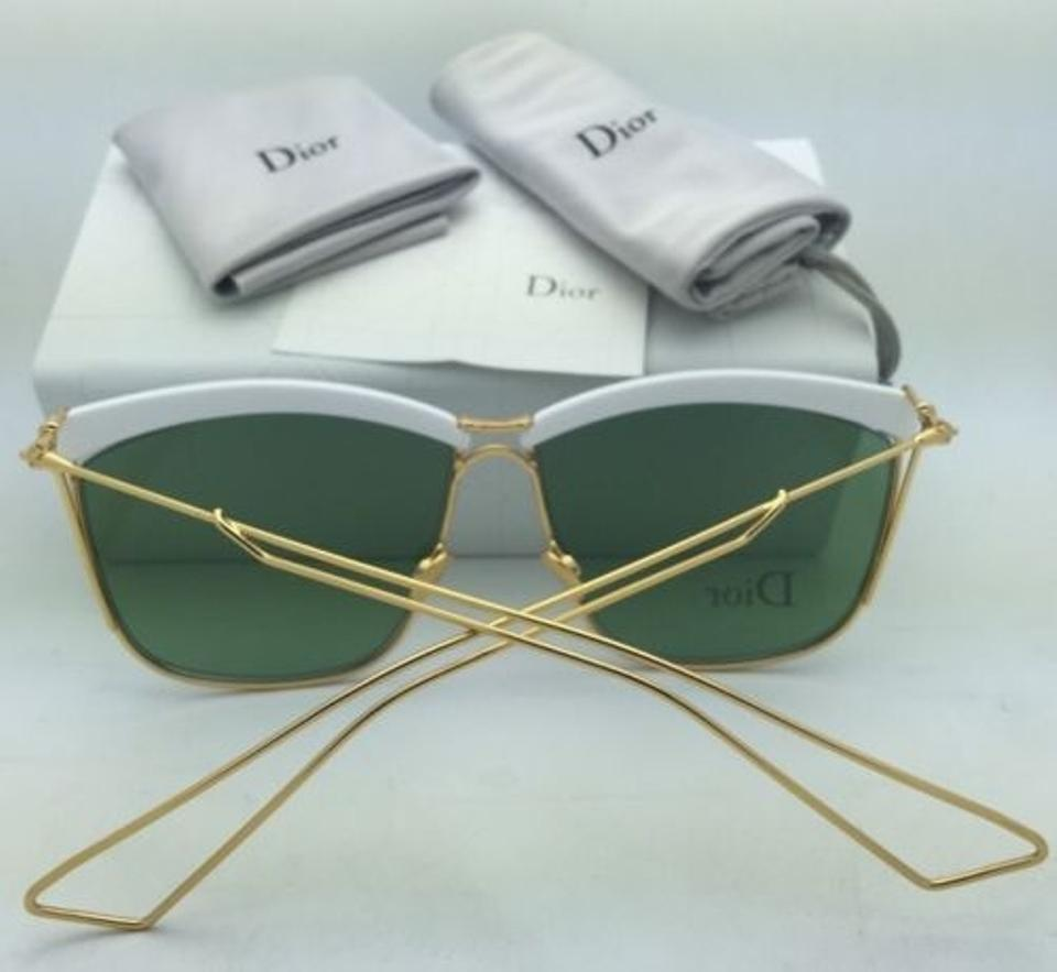 1ce417d68c Dior New CHRISTIAN DIOR Sunglasses DIORSOELECTRIC 266DJ White   Gold as  worn by. 1234567891011