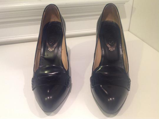 Tod's Leather Jodie Black Pumps