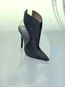 Jeffrey Campbell Washed Black Boots