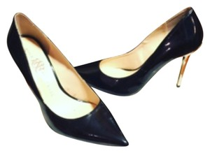 Rock & Republic Black/Silvet Pumps