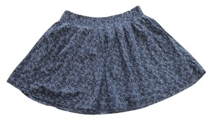 Old Navy Cotton Xl Mini Skirt Blue Star