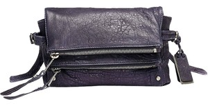 Joy Gryson Deep Violet Clutch