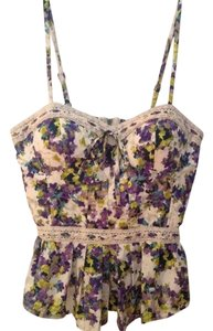 Jessica Simpson Top Off White Floral