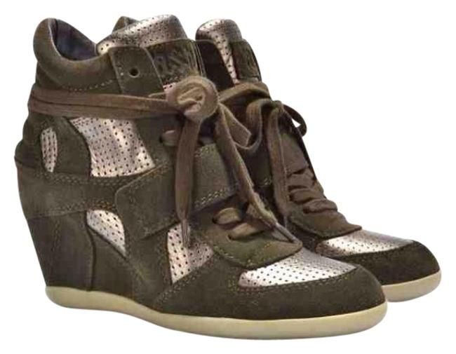 Item - Military Green Bowie Sneakers Size US 7.5 Regular (M, B)