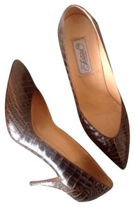 Fratelli Footwear Dark Brown Pumps