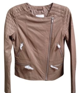 BB Dakota Dolorosa Lamb Leather Moto Motorcycle Jacket