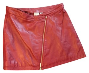 Wilsons Leather Mini Skirt