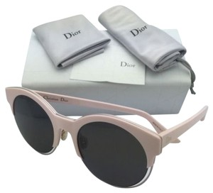 Dior New CHRISTIAN DIOR Sunglasses DIORSIDERAL1 J6EL3 Pink Round Frame as worn by Rihanna