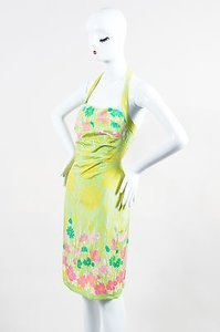 Kay Unger Light Green Dress