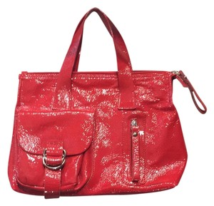 Coccinelle Satchel in Red