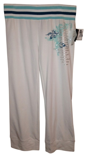 Preload https://item4.tradesy.com/images/baby-phat-white-teal-mint-silver-starlet-lounge-activewear-pants-size-12-l-32-33-1236053-0-0.jpg?width=400&height=650