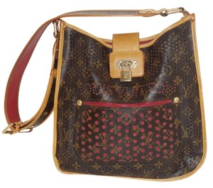 Louis Vuitton Perfororated Suede Musette Marc Jacobs Cross Body Xbody Handbag Shoulder Bag