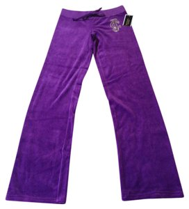 Juicy Couture Relaxed Pants Purple