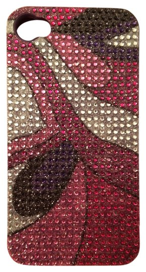 Greene + Gray Greene + Gray Jelly iPhone 4/4s Rhinestone Purple Case