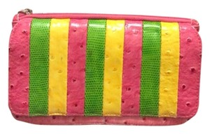 Rolf's Rolf's Pink Green Yellow Wallet