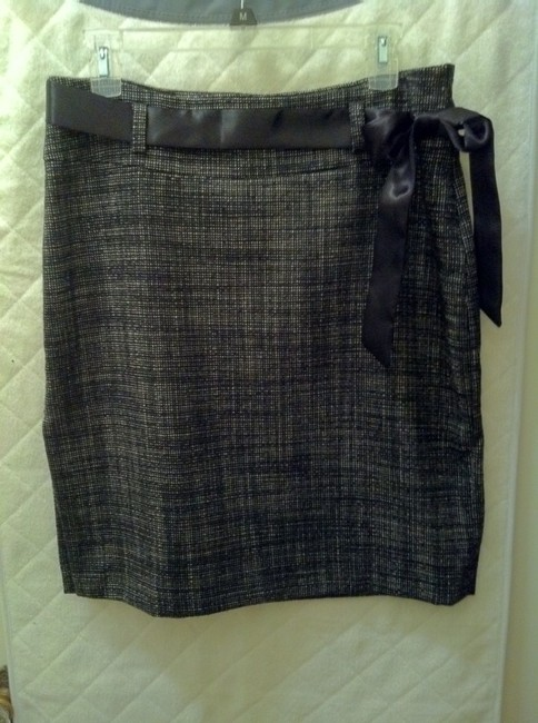 Kenneth Cole Skirt Black/white