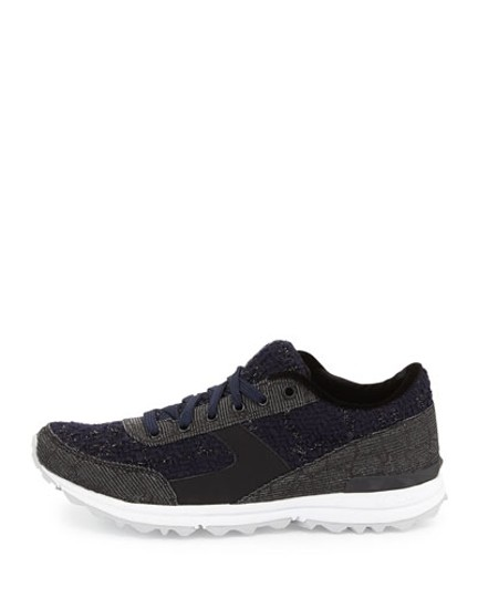 Sam Edelman Sneakers Dax Fashion NAVY Athletic Image 1