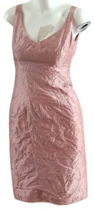 Nanette Lepore Silk Sheath Embroidered Silk Sequined Silk Dress