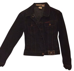 PARASUCO Dark blue denim Womens Jean Jacket