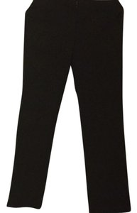 Theory Straight Pants Dark blue