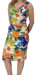 Ralph Lauren short dress Multi-color Bright Floral Print on Tradesy