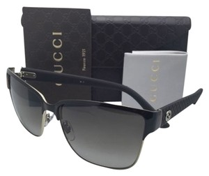 Gucci New GUCCI Sunglasses GG 4263/S LOZHA 60-14 Gold & Brown Frames w/ Brown Gradient Lenses