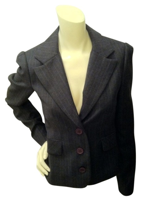 Preload https://item5.tradesy.com/images/juicy-couture-grayblue-blazer-1236679-0-0.jpg?width=400&height=650