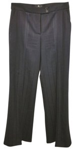 Etro Wool 44 Straight Pants BLACK