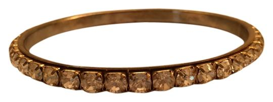 Forever 21 Rhinestone Gold Bangle