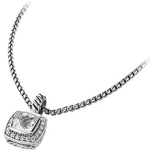 David Yurman David Yurman Albion Pendant Necklace w/Diamonds