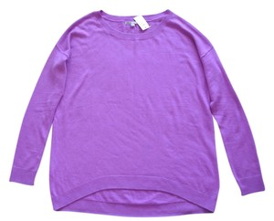Gap Hi-low Sweaters Top purple pink