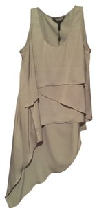 BCBGMAXAZRIA Bcbg Grey Sleeveless Top Light Grey/Glacier