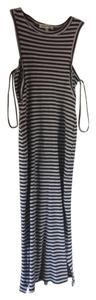 Grey Maxi Dress by Monteau Los Angeles