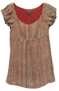 A X Armani Exchange Top red