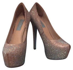 Betsey Johnson Wish Crystal Embellished Platforms