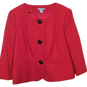 Ann Taylor brick red Blazer