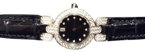 Harry Winston NEW HARRY WINSTON 18k WHITE GOLD W/ DIAMOND BEZEL RET. $27,500