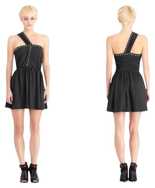 Preload https://item1.tradesy.com/images/rachel-roy-black-one-shoulder-studded-above-knee-short-casual-dress-size-6-s-1236890-0-0.jpg?width=400&height=650