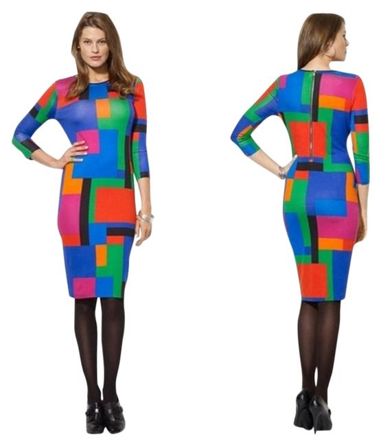 Preload https://item4.tradesy.com/images/ralph-lauren-multi-colored-pm-knee-length-workoffice-dress-size-petite-8-m-1236908-0-0.jpg?width=400&height=650