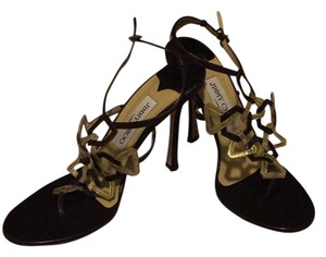 Jimmy Choo Gold and brown Formal