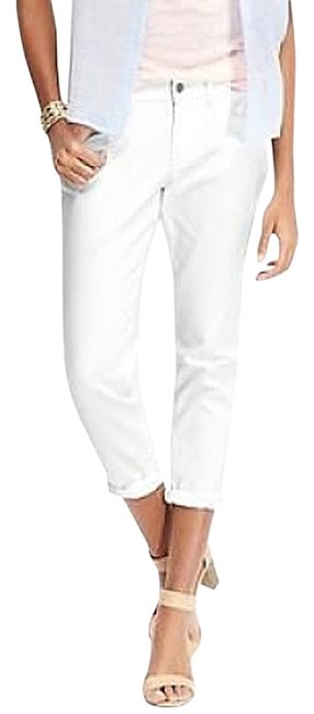 Item - Bright White Women's The Sweetheart Capri/Cropped Jeans Size 30 (6, M)